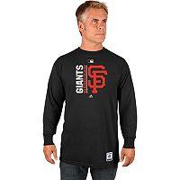 Men's Majestic San Francisco Giants AC Team Choice Long-Sleeve Tee