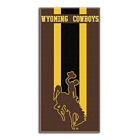 Wyoming Cowboys Zone Beach Towel