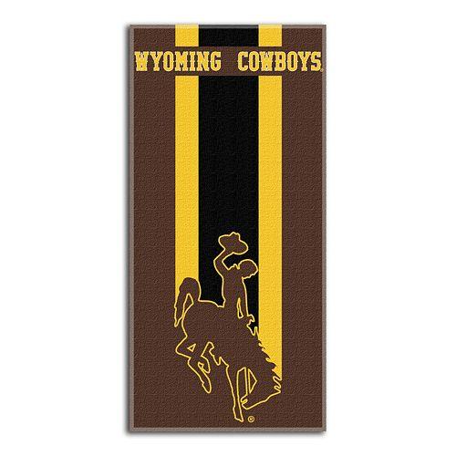 Wyoming Cowboys Zone Beach Towel