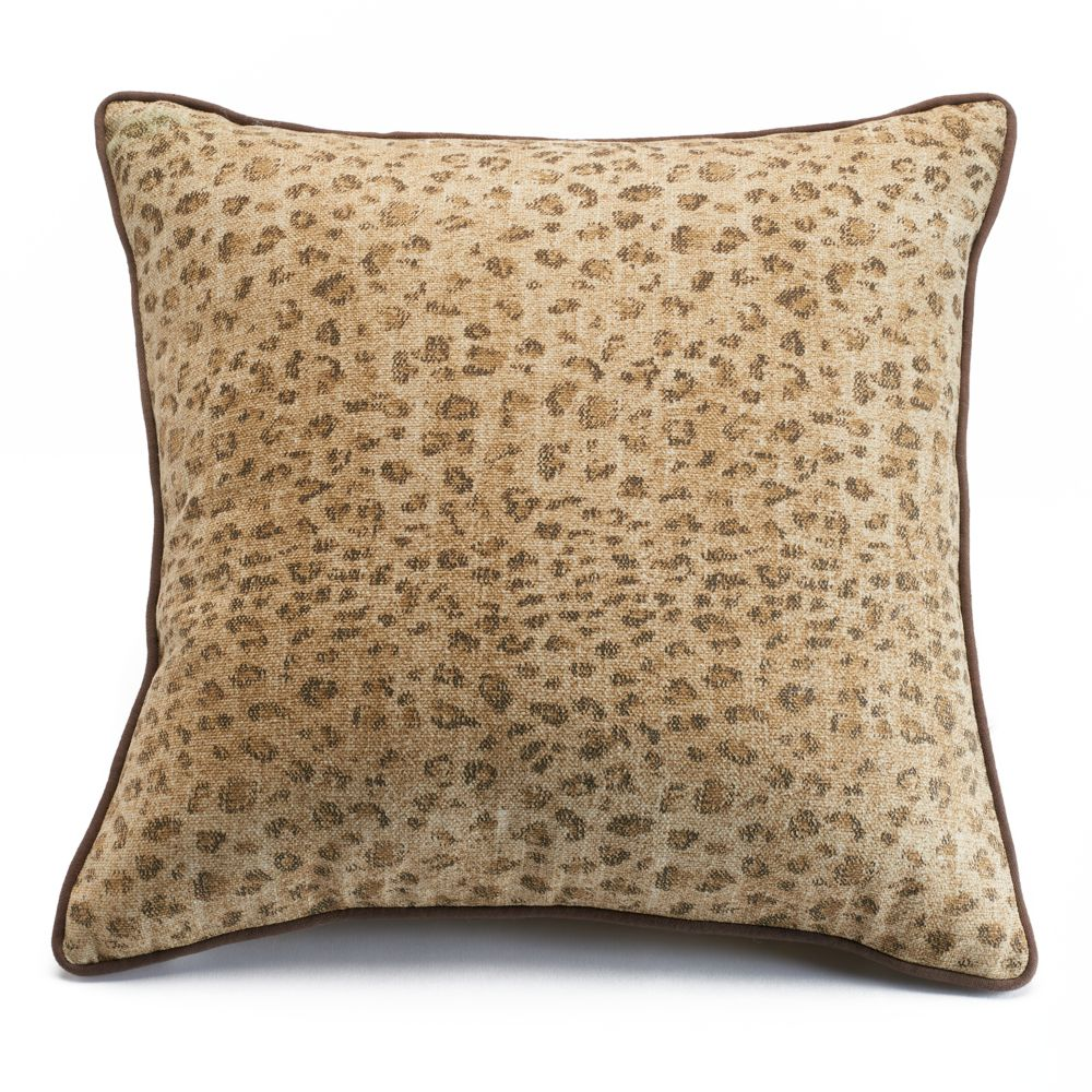 Home Cold Spring Leopard Throw Pillow