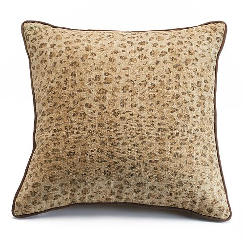 Chaps Home Cold Spring Leopard Throw Pillow