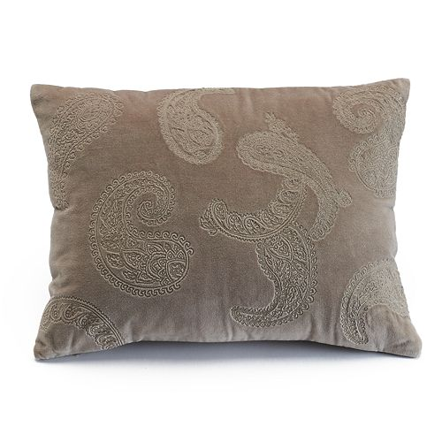 Chaps Home Cold Spring Velvet Throw Pillow