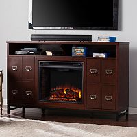 Roland Electric Fireplace TV Stand