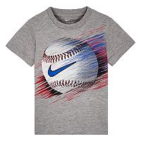 Toddler Boy Nike Swishing Line Baseball Tee