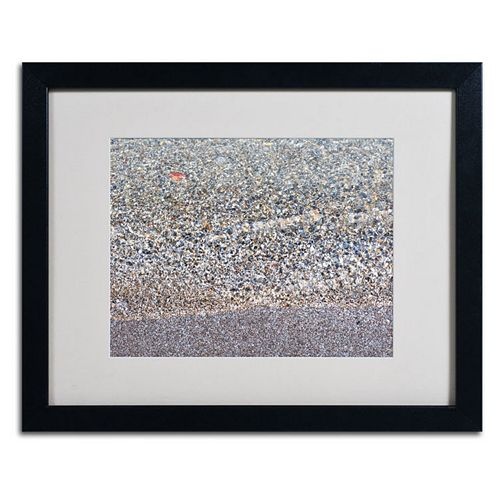Trademark Fine Art Lakeshore Abstract Framed Wall Art