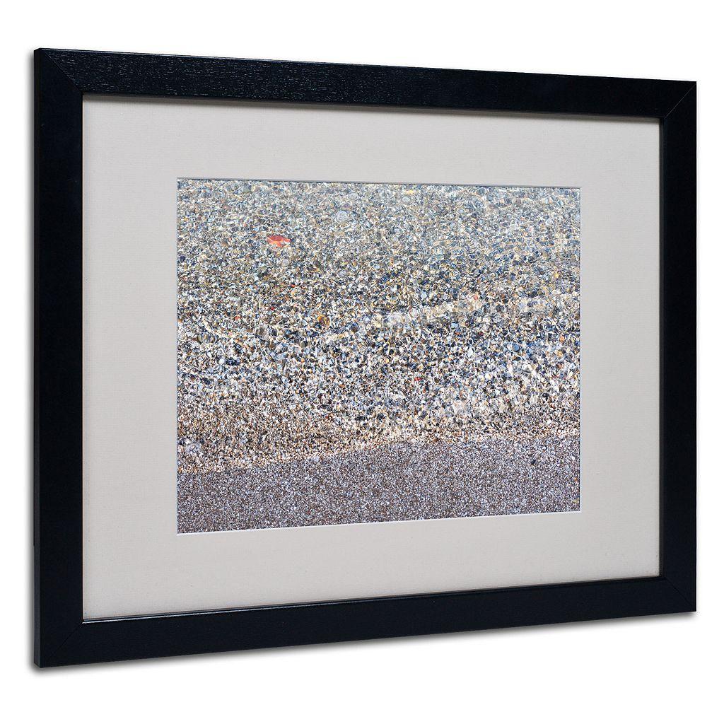 Trademark Fine Art Lakeshore Abstract Framed Wall Art