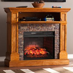 Carney Convertible Infrared Electric Fireplace