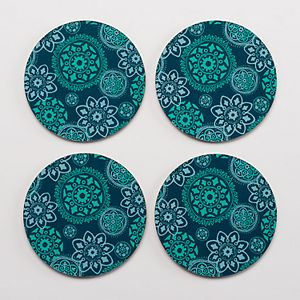 Food Network™ 4-pc. Medallion Coaster Set