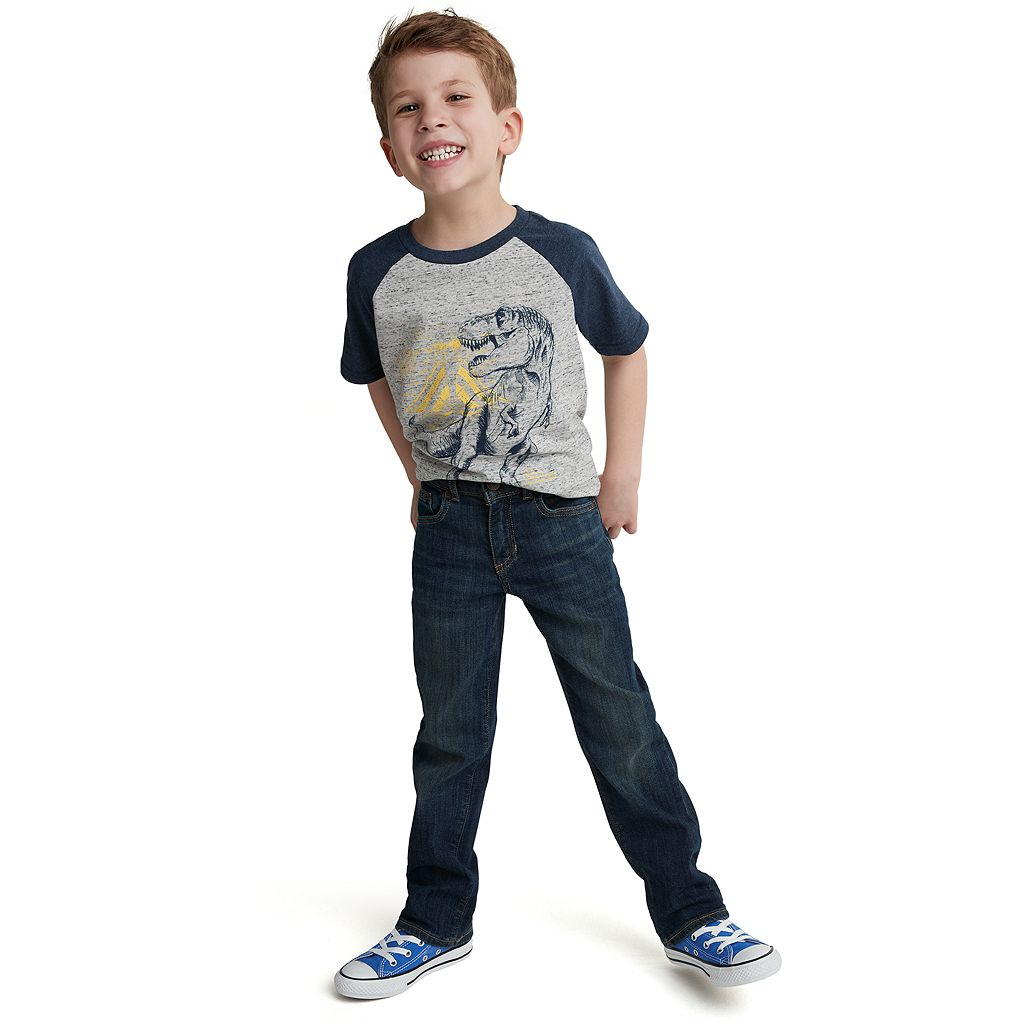 Boys 4-7x SONOMA Goods for Life™ Slim Straight-Leg Jeans