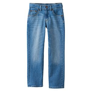 Boys 4-7x SONOMA Goods for Life™ Slim Light Wash Straight-Leg Jeans