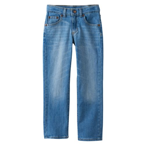 Boys 4-7x SONOMA Goods for Life™ Light Wash Straight Jeans