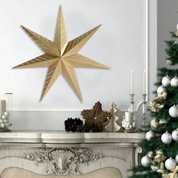 Stratton Home Decor Star Metal Wall Decor