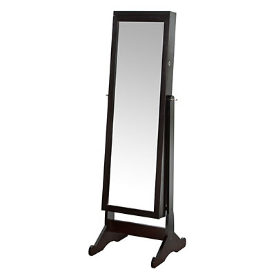 Richards Standing Jewelry Armoire & LED Light