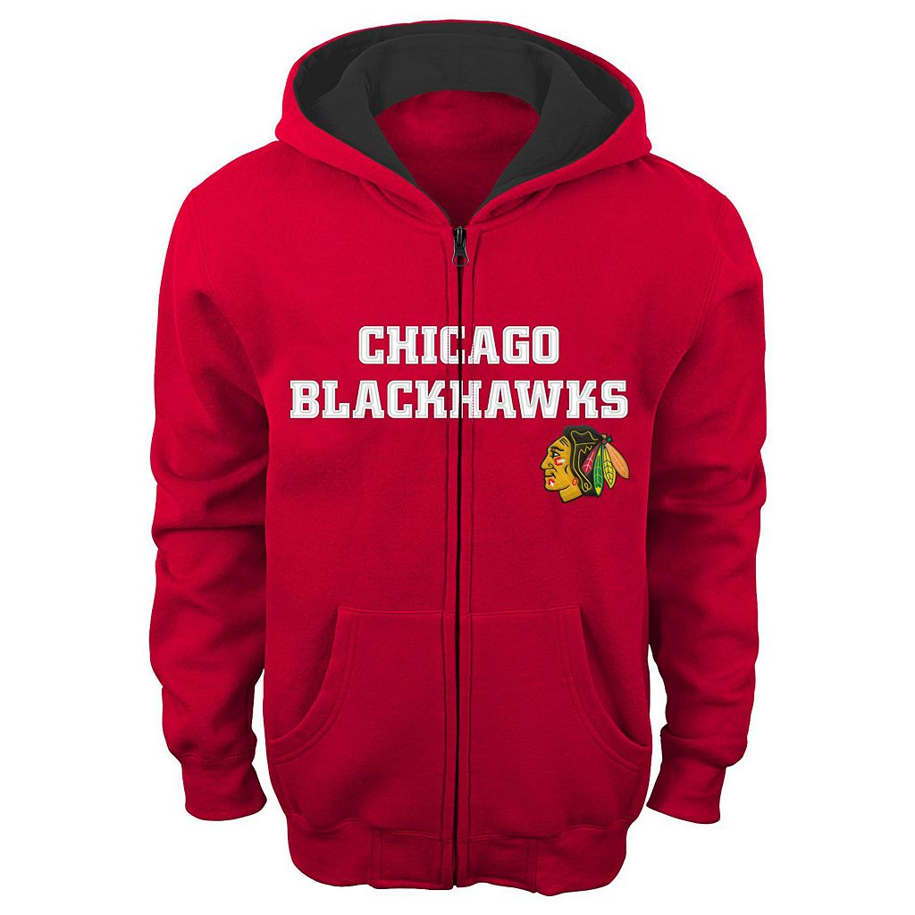 Boys 8-20 Reebok Chicago Blackhawks Stated Hoodie