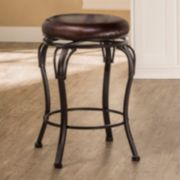 Backless Portland Swivel Counter Stool