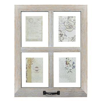 belle maison 4 opening window pane floating fashion collage frame - Windowpane Frame