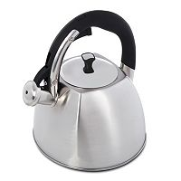 Mr. Coffee Belgrove 2.5-qt. Brushed Stainless Steel Teakettle