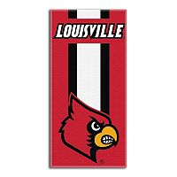 Louisville Cardinals Zone Beach Towel