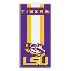 LSU Tigers Zone Beach Towel