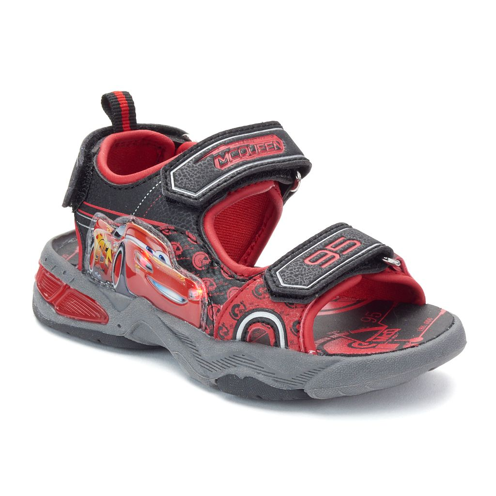 Disney / Pixar Cars Lightning McQueen Toddler Boys' Light-Up Sandals