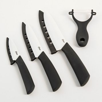 Oster Ostead 4-pc. Ceramic Cutlery Set