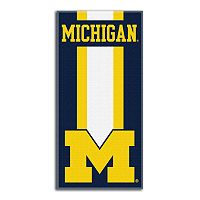 Michigan Wolverines Zone Beach Towel