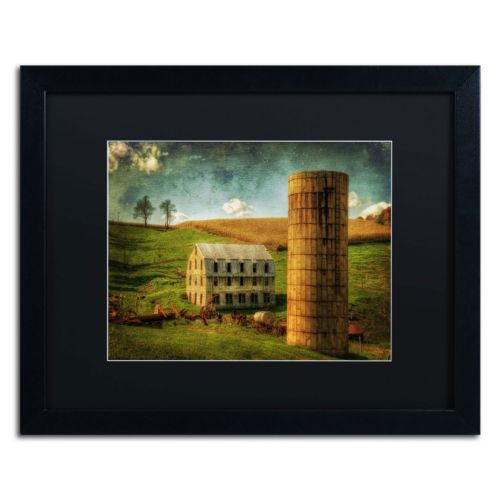 Trademark Fine Art His Pride and Joy Matted Black Framed Wall Art