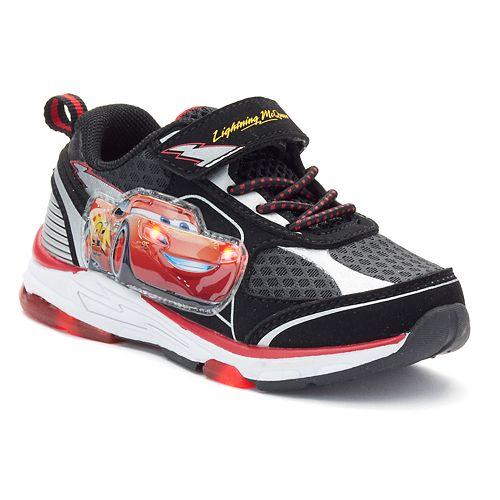 Disney Pixar Cars Lightning Mcqueen Toddler Boys Light Up