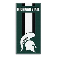 Michigan State Spartans Zone Beach Towel