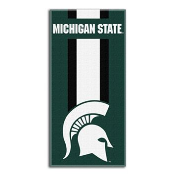 Michigan State Spartans Zone Beach Towel