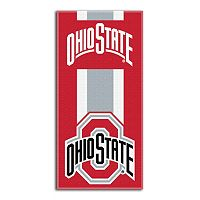 Ohio State Buckeyes Zone Beach Towel