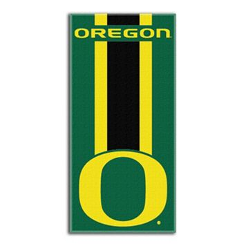 Oregon Ducks Zone Beach Towel
