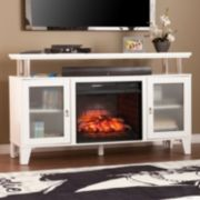 Davila Infrared Electric Fireplace TV Stand