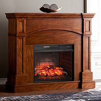 Chandler Convertible Infrared Electric Fireplace