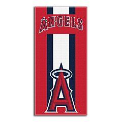 Los Angeles Angels of Anaheim Zone Beach Towel