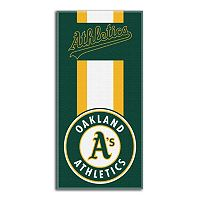Oakland Athletics Zone Beach Towel
