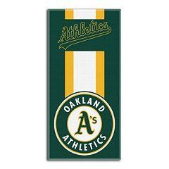Oakland Athletics Zone Beach Towel