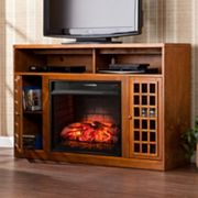 Narita Infrared Electric Fireplace TV Stand