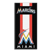 Miami Marlins Zone Beach Towel
