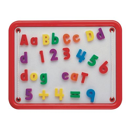 Educational Insights Magnetic Alphabet & Numbers