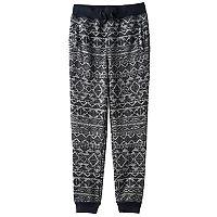 Boys 8-20 Hollywood Jeans Sweater-Print Fleece Jogger Pants