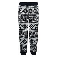 Boys 8-20 Hollywood Jeans Sweater-Print Fleece Jogger Pants