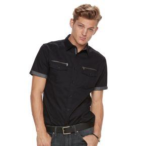 Men's Rock & Republic Stretch Dobby Button-Down Shirt