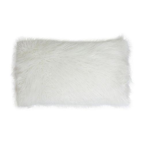 Thro by Marlo Lorenz Keller Faux-Fur Lumbar Pillow