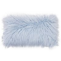 Thro by Marlo Lorenz Keller Faux-Fur Lumbar Pillow