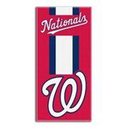 Washington Nationals Zone Beach Towel