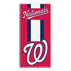 Washington Nationals Zone Beach Towel