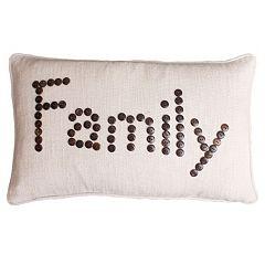Thro by Marlo Lorenz Catalina Button Lumbar Pillow