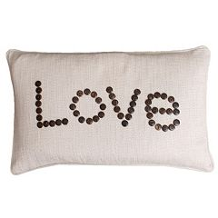 Thro by Marlo Lorenz Catalina Button Lumbar Pillow