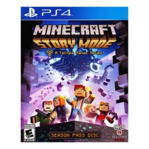 Minecraft Story Mode for PS4